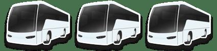 Parade Tour Buses