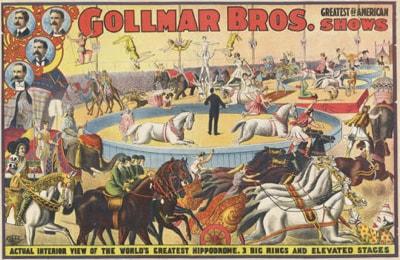 Gollmar Bros. Circus Poster