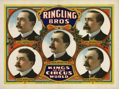Ringling Bros. Poster
