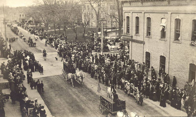 Vintage Circus Parade Photo