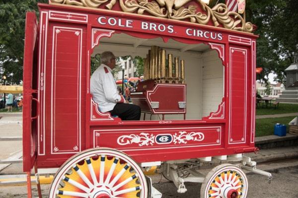 Cole Bros. Air Calliope No.82