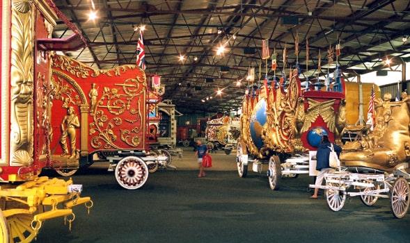 Circus World Museum Wagons